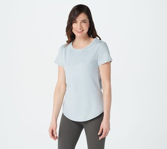 zuda Z-Cool Open Back Knotted Tee