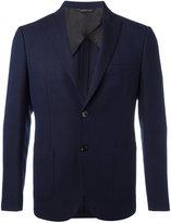 Tonello notched lapel blazer - men - Silk/Cupro/Mohair/Wool - 46