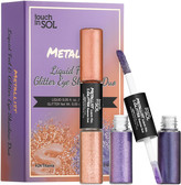 Touch In Sol - Metallist Liquid Foil & Glitter Eyeshadow Duo Mini Kit