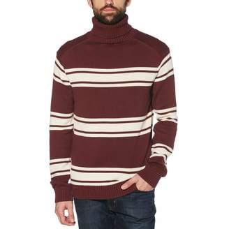 Original Penguin Heavyweight Striped Turtleneck Sweater