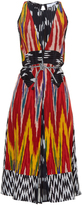 Altuzarra Parrot ikat-print silk midi dress