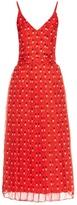 Christopher Kane Love heart-print silk-chiffon dress