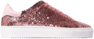 Axel Arigato Clean 90 Glittered Leather Sneakers