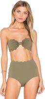 Marysia Swim Antibes Bikini Top in Green. - size S (also in )