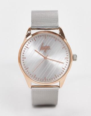 Hype mesh strap watch