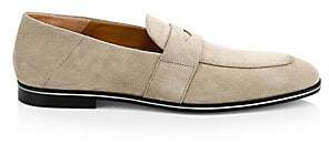 HUGO BOSS Men's Safari Suede Loafers