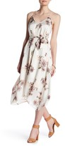 S.H.E. Floral Hanky-Hem Maxi Dress