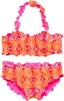 Heidi Klein Reversible Ruffle Bikini Set