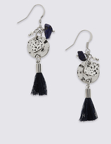 M&S Collection Shiny Tassel Earrings