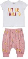 Peek Aren't You Curious Dinah Graphic Tee & Pants Set