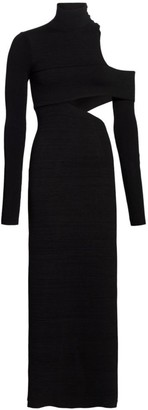 Proenza Schouler Cutout Knit Midi Dress