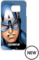 Marvel MARVEL CAPTAIN AMERICA PERSONALISED SAMSUNG S6 PHONE CASE
