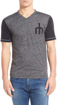 American Needle Seattle Mariners Onyx Trim Fit V-Neck Tee
