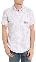 RVCA Men's Rcva That'Ll Do Barry 2 Woven Shirt