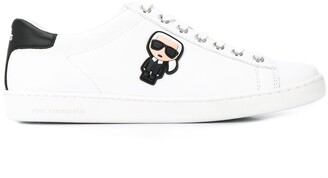 Karl Lagerfeld Paris Iconic cupsole sneakers