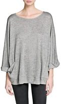 MANGO Outlet Dolman Sleeve Pocket T-Shirt