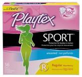 Playtex Sport Plastic Applicator Unscented Regular Absorbency Tampons 36-ct.