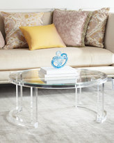 Interlude Shonda Acrylic Coffee Table