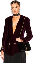Lanvin Velvet Blazer Jacket