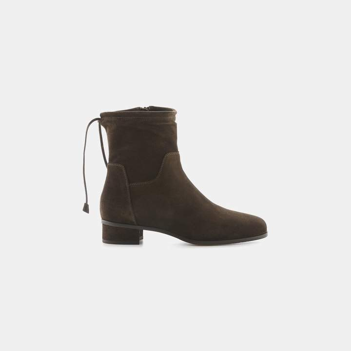 Aquatalia Lisa Suede Slouch Boot