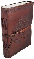 Zeckos Embossed Leather Medieval Dragon 120 Leaf Unlined Journal