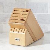 Crate & Barrel Wüsthof ® 17-Slot Natural Knife Block
