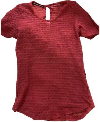 Comptoir des Cotonniers Pink Lace Top for Women
