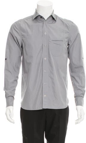 Yigal Azrouel Woven Button-Up Shirt