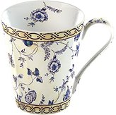 V&A Creative Tops 1-Piece Fine Bone China China Mug in a Gift Box Georgian Trail, Cream