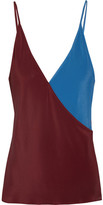 Jonathan Saunders Ginger two-tone camisole