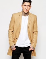 Minimum Overcoat In Slim Fit