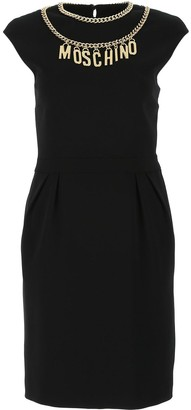 Moschino Sleeveless Sheath Dress
