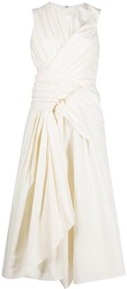 Christian Wijnants Davu cotton-blend dress
