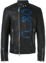 Diesel Black Gold 'Lime-Print' waxed jacket