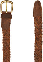 Swell Braided Mens Belt Brown