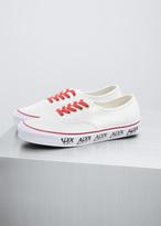 Vans white / red alyx og authentic lx