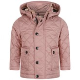 Burberry BurberryBaby Girls Pink Quilted Jamie Jacket