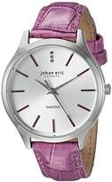 Johan Eric Women's JE2200-04-001.13 Herlev Analog Display Quartz Pink Watch