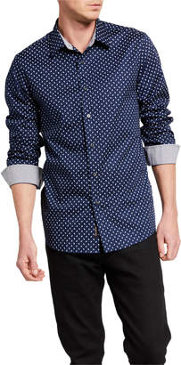 Michael Kors Men's Paisley Print Sport Shirt
