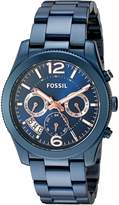 Fossil Women's Quartz Stainless Steel Casual Watch, Color: (Model: ES4093)