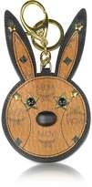 MCM Cognac Rabbit Mirror Charm