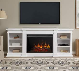 Pottery Barn Real Flame®; Eliot Grand Electric Fireplace Media Cabinet
