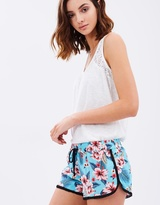 PJ Salvage Wanderlust Hawaiian Shorts