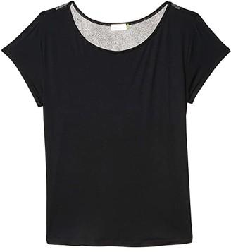 tasc Performance Athena Top (Black) Women's Clothing