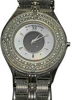 Mauboussin 186 W 18K White Gold and Diamond 25mm Womens Watch