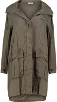 James Perse Linen hooded coat