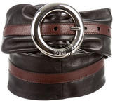 Dolce & Gabbana Leather Waist Belt w/ Tags