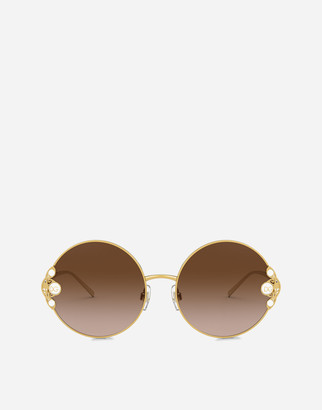 Dolce & Gabbana Filigree & Pearls Sunglasses