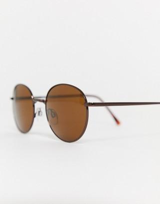 A. J. Morgan AJ Morgan patterson oversized sunglasses