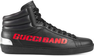 Gucci Ace Band high-top sneaker